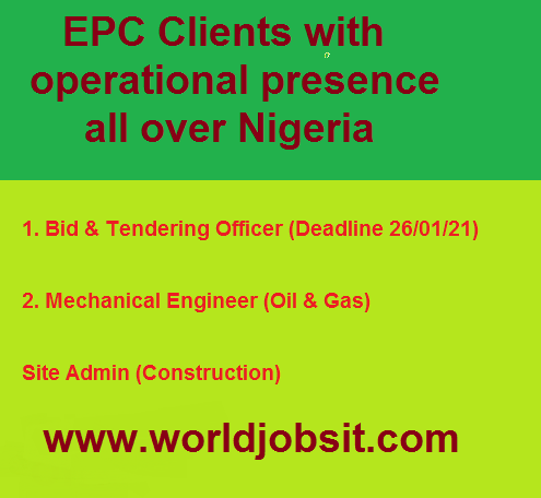 EPC Clients with operational presence all over Nigeria
