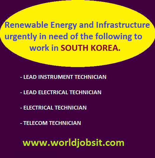 Lead Instrument, Electrical and Telecom Technicians
