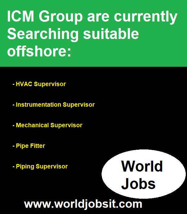 ICM Group are currently Searching suitable offshore: