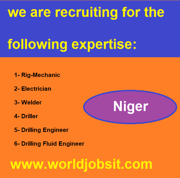 we are recruiting for the following expertise: