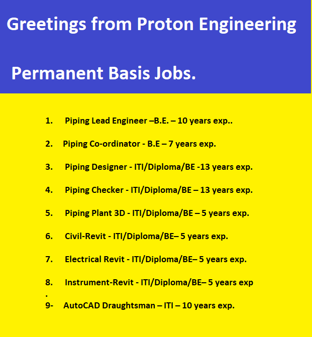 Greetings from Proton Engineering!!