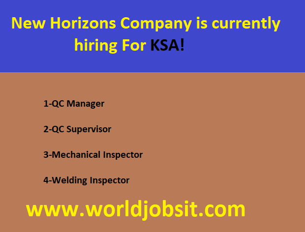 New Horizons Company is currently hiring